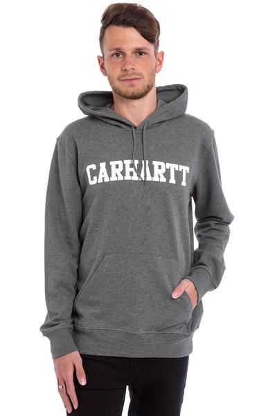 Carhartt WIP College Hoodie (dark grey heather white)