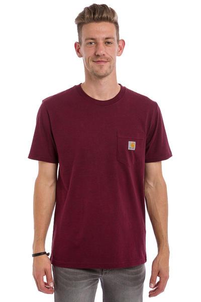 Carhartt WIP Pocket T-Shirt (chianti heather)