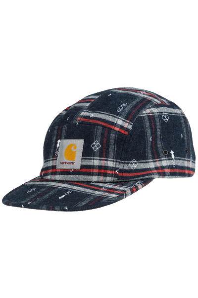 Carhartt WIP Carlos Origin 5 Panel Cap (carlos check jupiter heather)