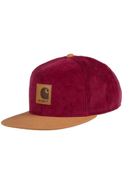 Carhartt WIP Gibson Starter Snapback Cap (chianti hamilton brown)