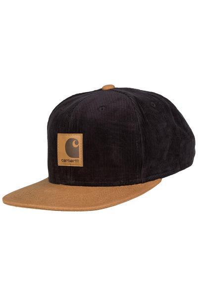 Carhartt WIP Gibson Starter Snapback Cap (black hamilton brown)