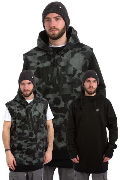 DC Dryden Sudadera Snow (camouflage lodge grey)
