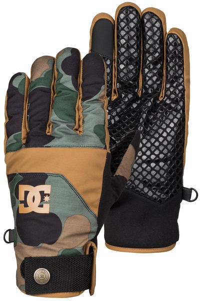 DC Antuco Gloves (camouflage lodge)