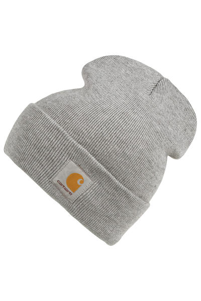 Carhartt WIP Short Watch Mütze (grey heather)