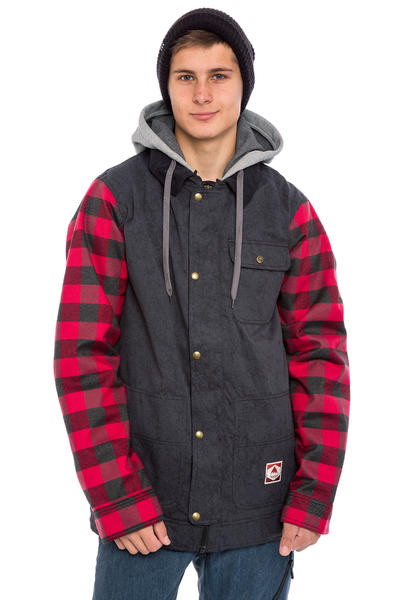 Burton Dunmore Snowboard Jacke (true black buffalo plaid)