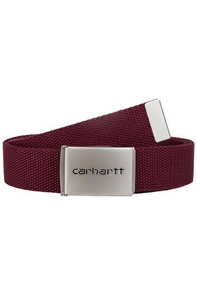 Carhartt WIP Clip Chrome Belt (chianti)