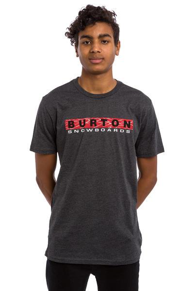 Burton Throwback Camiseta (true black heather)