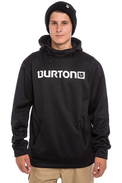Burton Crown Bonded Sudadera Snow (true black)