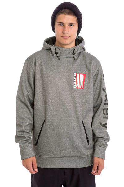 Burton Crown Bonded Snow Hoodie (monument heather air)
