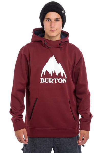 Burton Crown Bonded Snow Hoodie (wino)