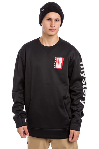 Burton Bonded Sweatshirt (true black air)