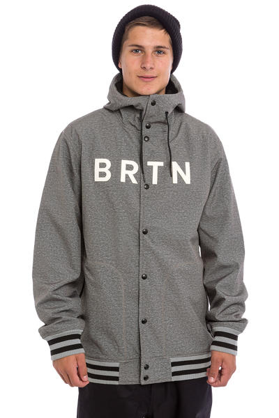 Burton Capital Snowboard Jacke (dark ash heather)