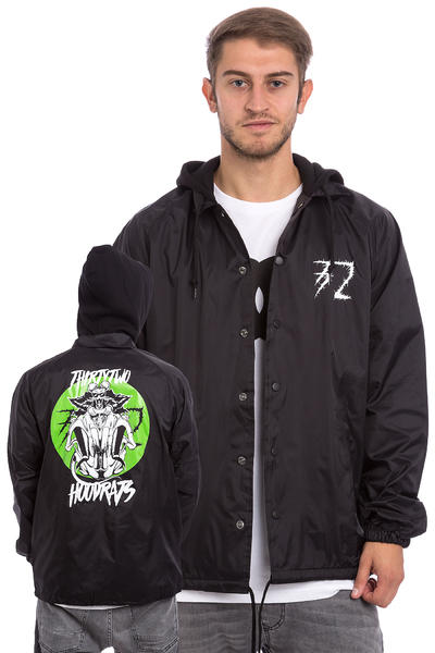 ThirtyTwo x Hood Rat Riders Coach Chaqueta (black)
