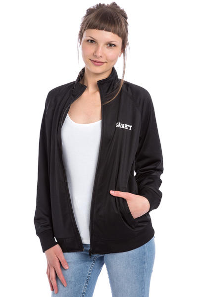 Carhartt WIP W' College Track Jacket women (black white)