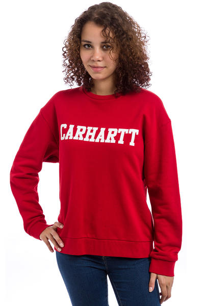 Carhartt WIP W' College Sweatshirt women (rosehip white)