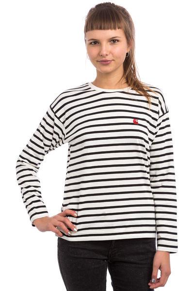 Carhartt WIP W' Robie Longsleeve women (stripe snow black rosehip)