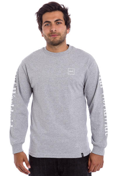 HUF Domestic Longsleeve (charcoal heather)