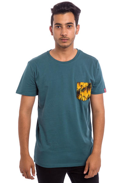 Private Pine Pocket T-Shirt (petrol)