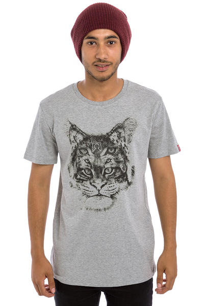Private Triple Cat T-Shirt (heather grey)