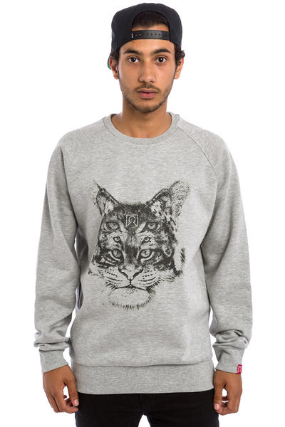 Private Triple Cat Sweatshirt (heather grey)