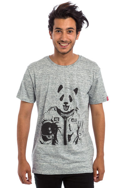 Private Pandastronaut T-Shirt (slub heather grey)