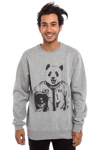 Private Pandastronaut Sweatshirt (heather grey)