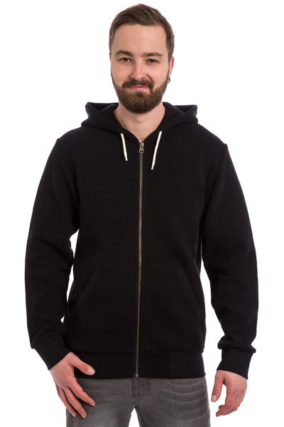 Turbokolor Moder Deck Crew Zip-Hoodie (black)