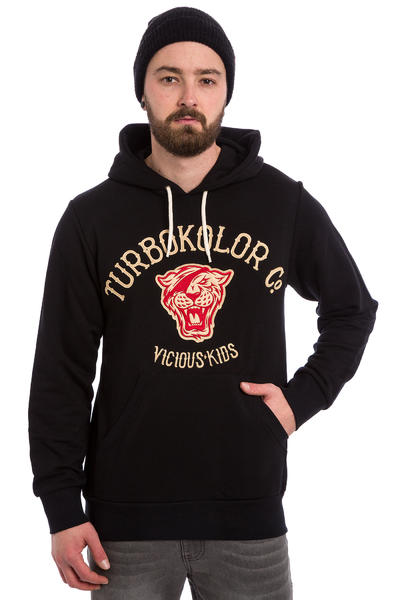 Turbokolor Tiger Hoodie (black)