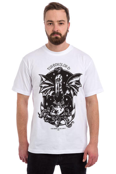 Turbokolor Rise T-Shirt (white)