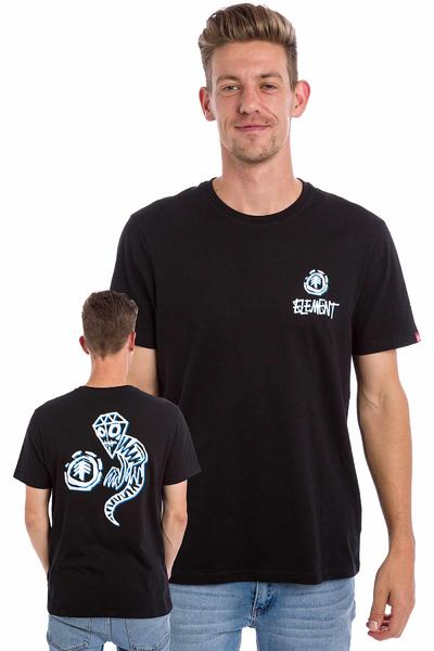 Element Perspective x Fos Rock T-Shirt (flint black)