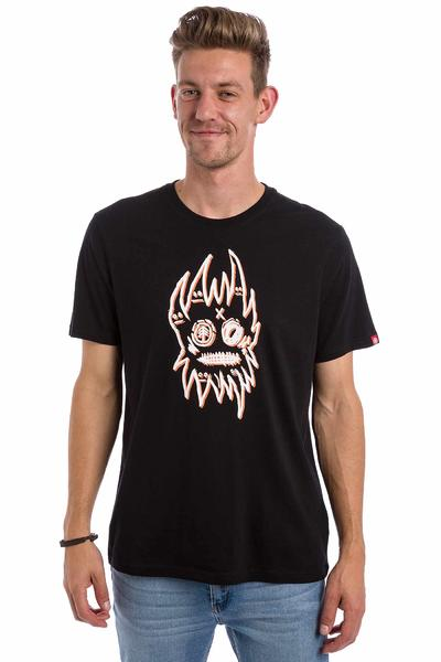 Element Perspective x Fos Mask T-Shirt (flint black)