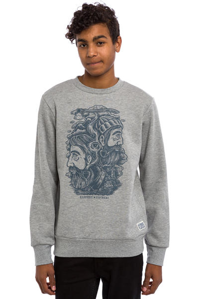 Element x Timber! Logs Sweatshirt (grey heather)