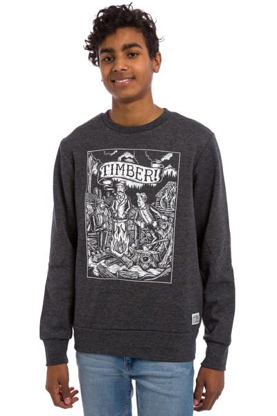 Element x Timber! Logs Sweatshirt (charcaol heather)