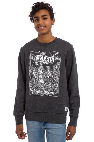 Element x Timber! Logs Sweatshirt (charcaol heather)