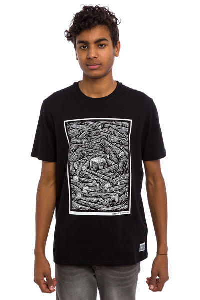 Element x Timber! Logs T-Shirt (flint black)