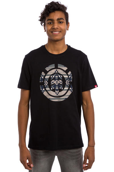 Element Blanket Icon Fill T-Shirt (flint black)