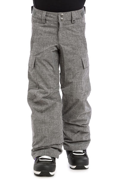 Burton Exile Cargo Snowboard Hose kids (heather iron grey)