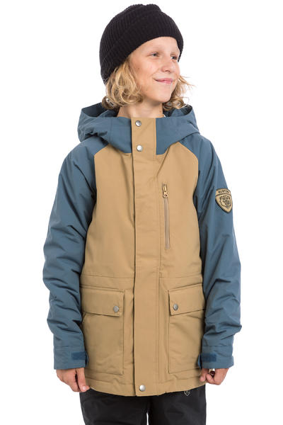 Burton Phase Snowboard Jacke kids (kelp washed blue)