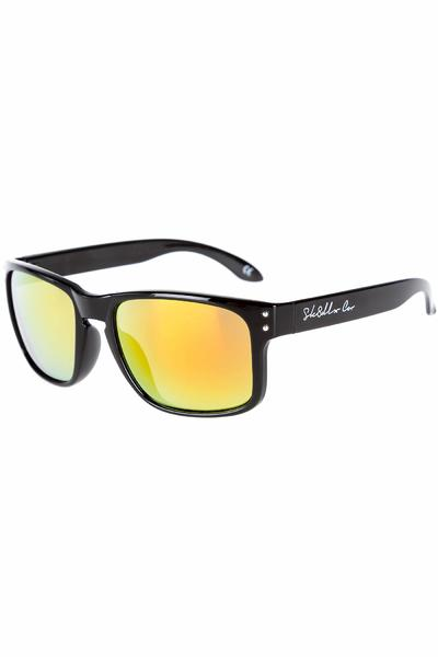 SK8DLX Bryne Sunglasses (black red)
