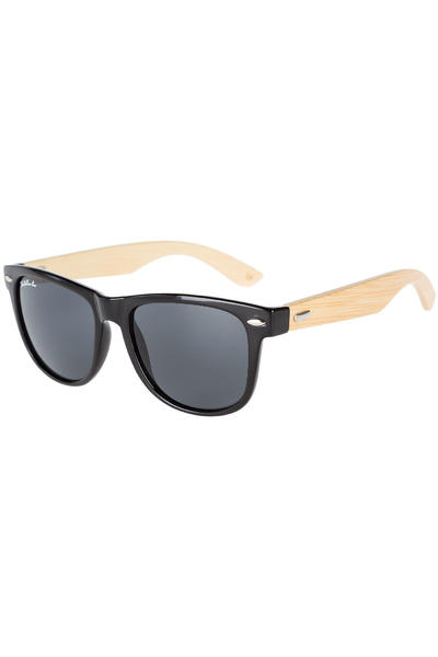 SK8DLX Coresk8 Wood Sunglasses (black smoke)