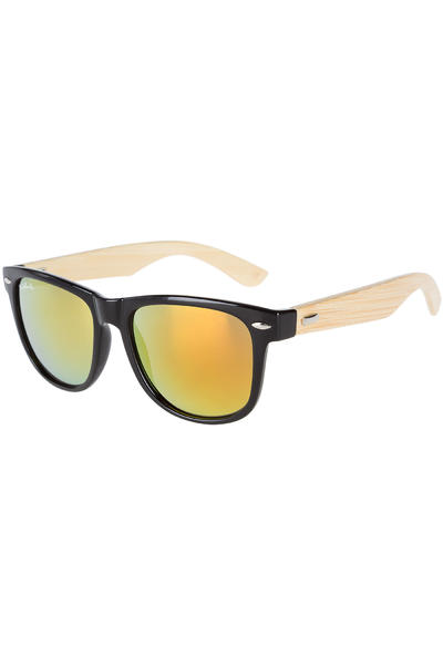 SK8DLX Coresk8 Wood Sunglasses (black red)