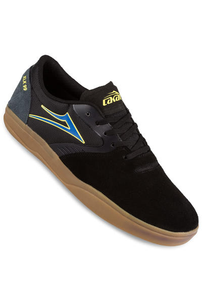 Lakai Pacer Suede Shoe (black gum)