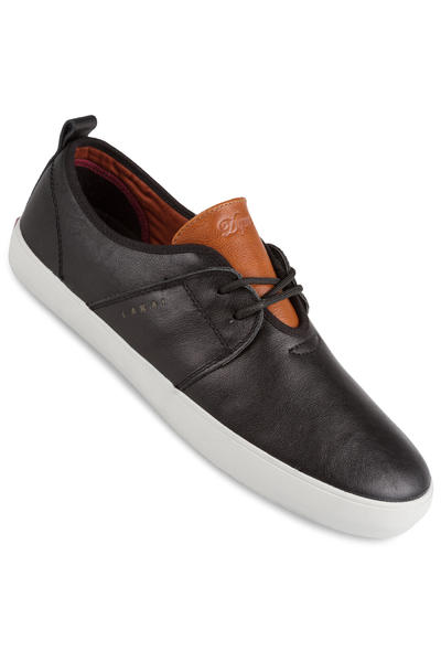 Lakai Albany Leather Shoe (black brown)