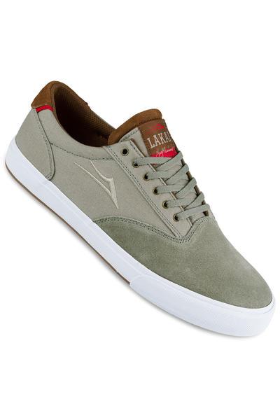 Lakai Guymar Suede Shoe (aluminium)