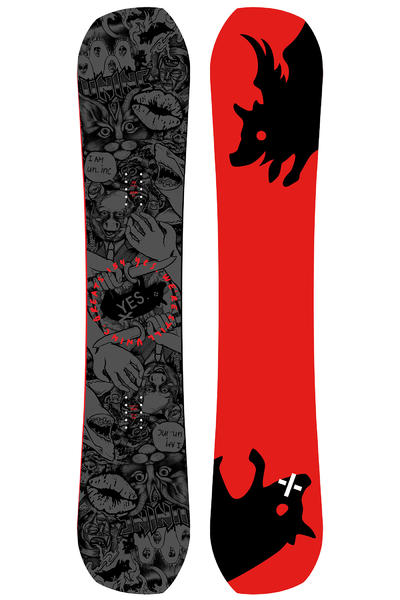 YES Greats UnInc. 154cm Snowboard 2016/17