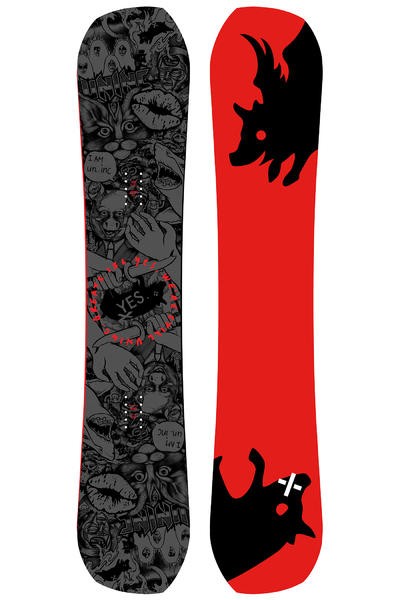 YES Greats UnInc. 156cm Snowboard 2016/17