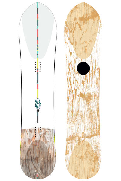 YES 420 Powder Hull 154cm Snowboard 2016/17