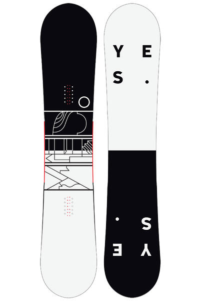 YES Jackpot 154cm Snowboard 2016/17