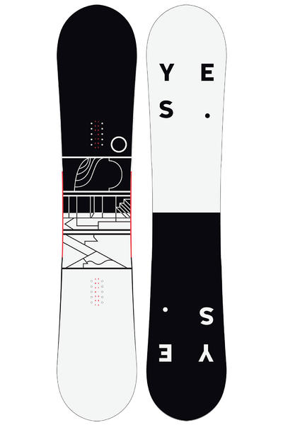 YES Jackpot 156cm Snowboard 2016/17