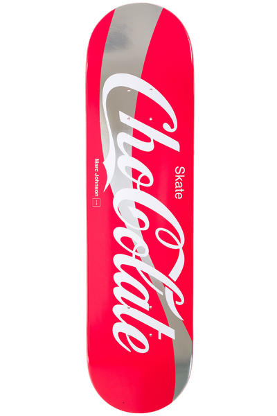 "Chocolate Johnson Cola 8.125"" Deck (red white)"